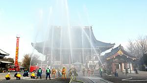 写真:平成28年1月15日 池上本門寺(東京都大田区)